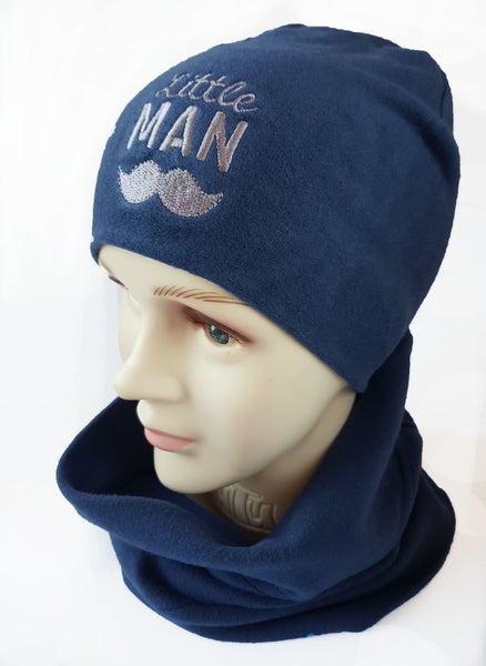 Winter Beanie Boys Little MAN 1-15 years
