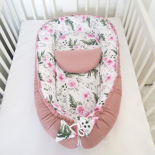 baby sleep pod nest with removable mattress evcushy
