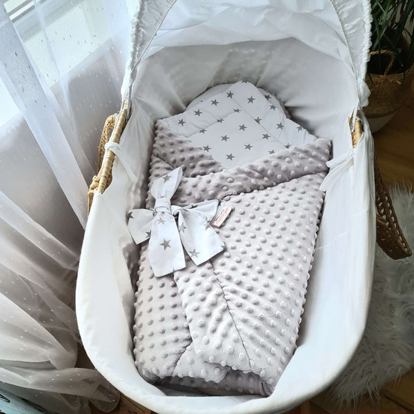 warm cosy first blanket for a baby