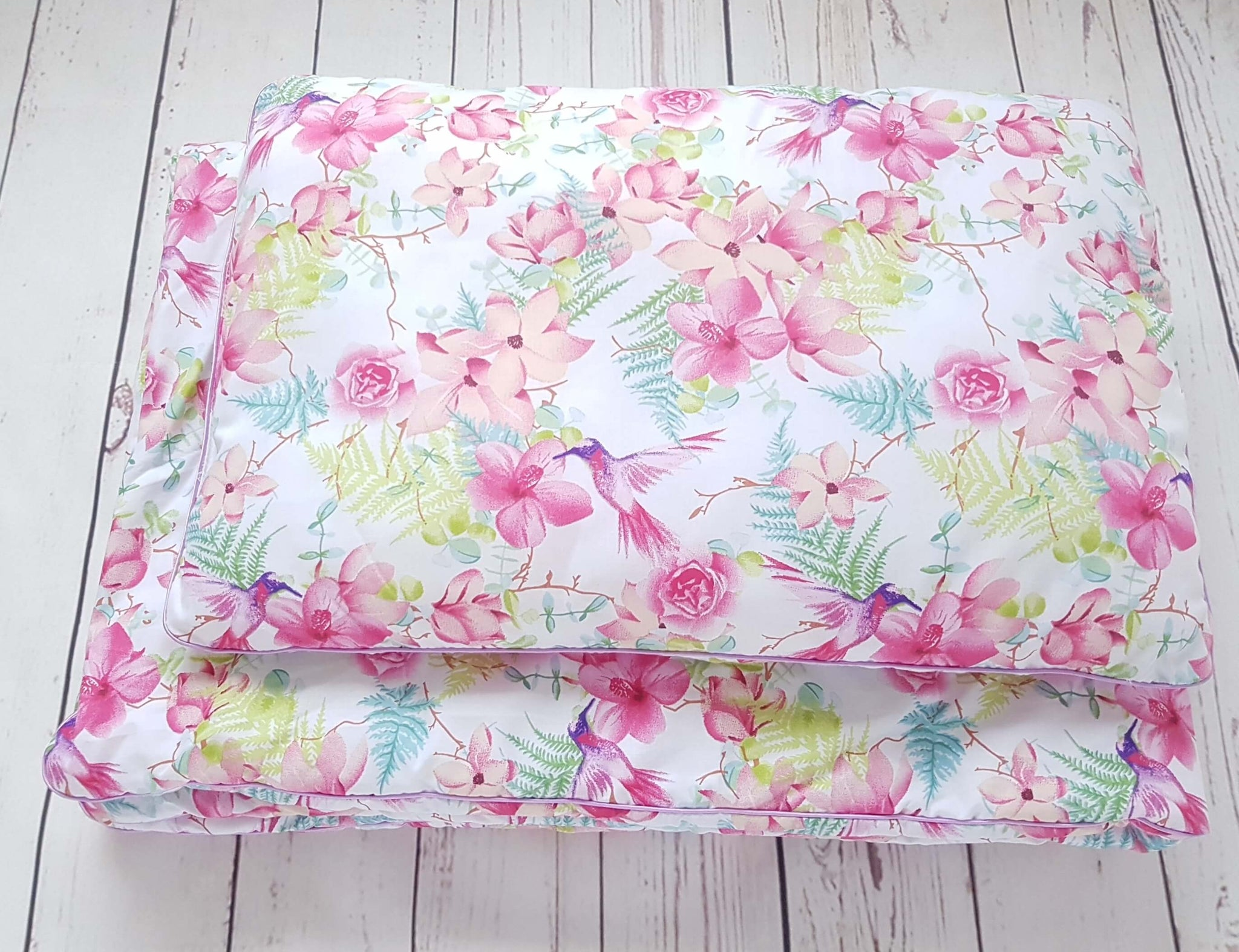 ANTI ALLERGY DUVET AND PILLOW SET EVCUSHY SUMMER