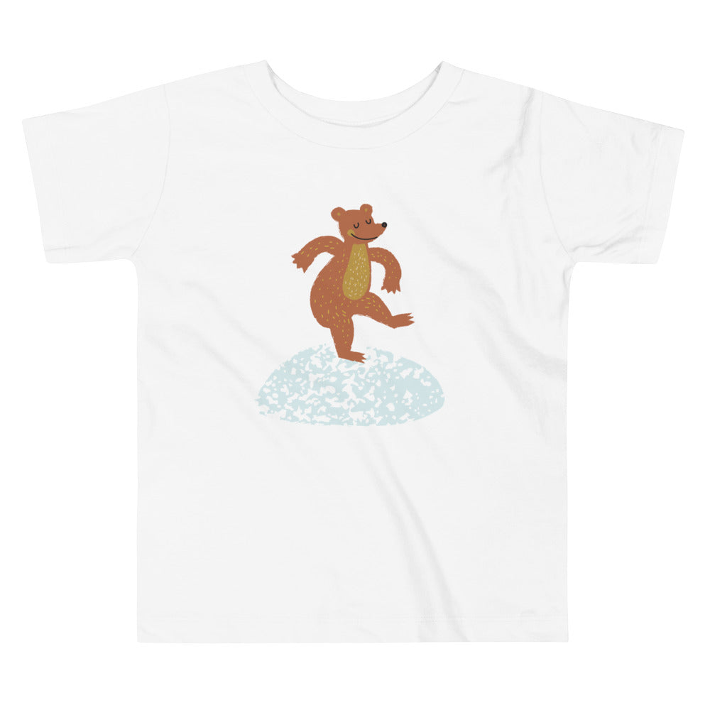 Dancing Bear Toddler Tee