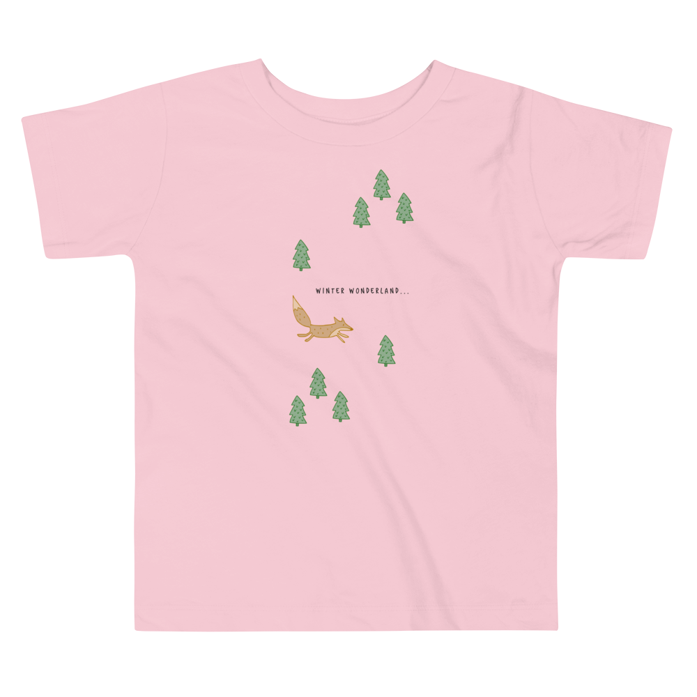 Fox's Winter Toddler Tee