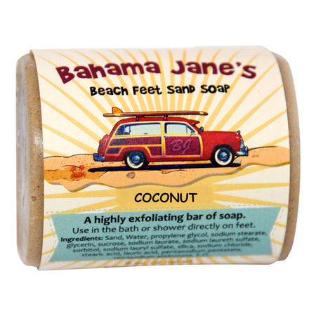 Beach Feet Sand Soap - Coconut