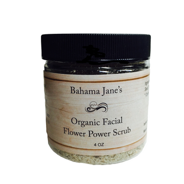 Organic Facial Flower Power Scrub