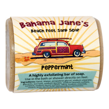 Beach Feet Sand Soap - Peppermint