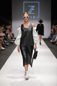 BLACK OUT TOP - catwalk piece - BLACK OUT felső