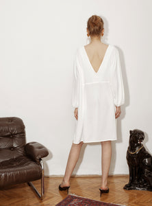 SUMMER CRUZ DRESS / white