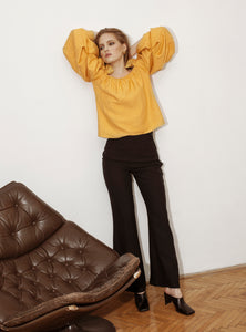 SUMMER BARCELONA TOP / yellow