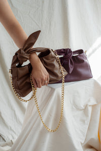 CRUZ BAG - brown or purple
