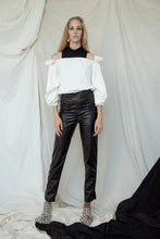 WINTER BARCELONA TOP with turtleneck top - black or white