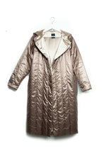 ZIA // oversize metallic jacket