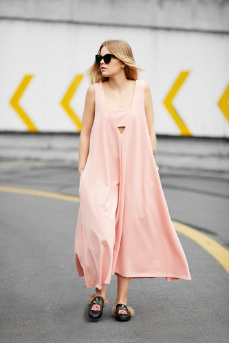 ZIA //  city cruz dress - powder