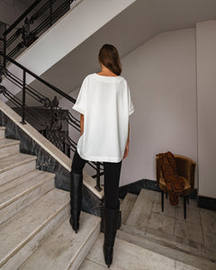 SOLID GOLD OVERSIZE T-SHIRT - SOLID GOLD OVERSIZE PÓLÓ