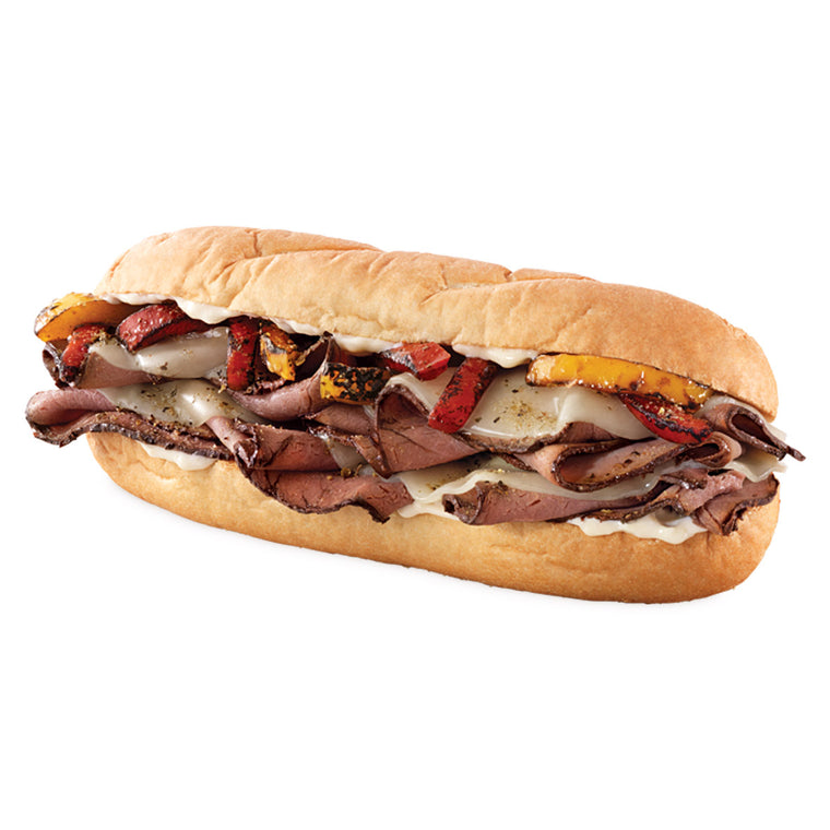 Fire-Roasted Angus Philly