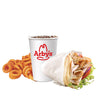 Roast Turkey Gyro Value Meal