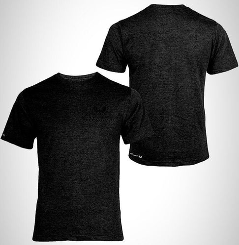 Black T-Shirt with Black Logo