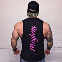 Black LAH Vest With Pink Logo