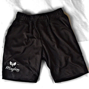 Black Shorts With Small Logo