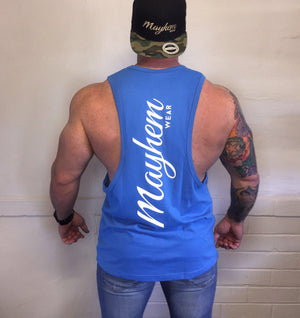 Blue LAH Vest With White Logo