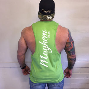 Green LAH Vest With White Logo