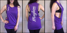 Purple LAH Vest With White Logo