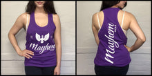 Purple Stringer With White Logo
