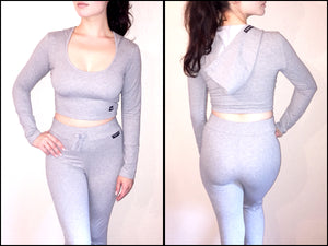Grey Ladies Track Suits