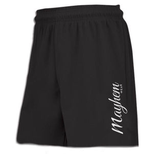 Black Shorts With Large Logo