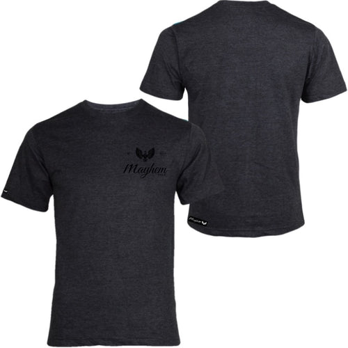 Grey T-Shirt with Black Logo