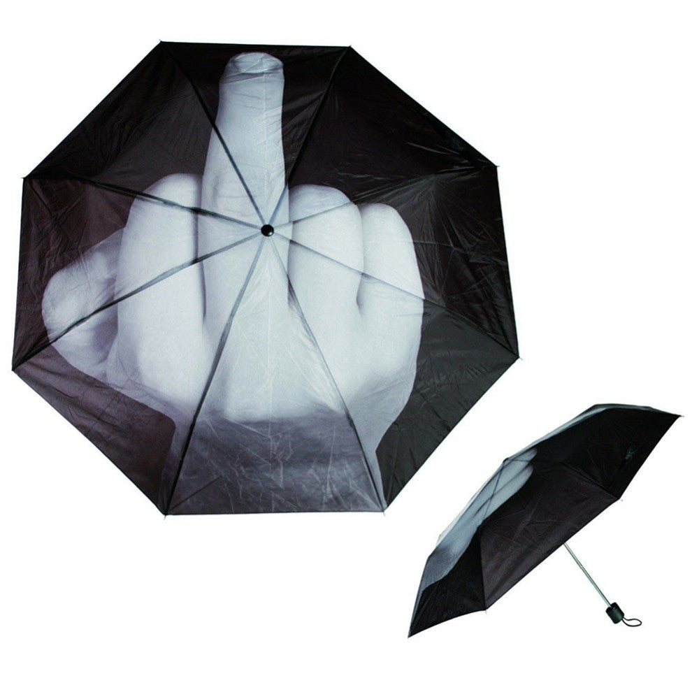 Cool Middle Finger Umbrella - Ydentity - Fashion Accessories