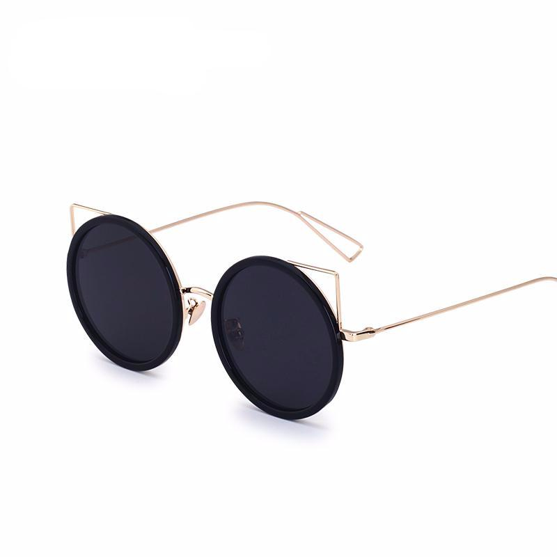 Cat Ear Frameless Sunglasses - Ydentity - Fashion Accessories