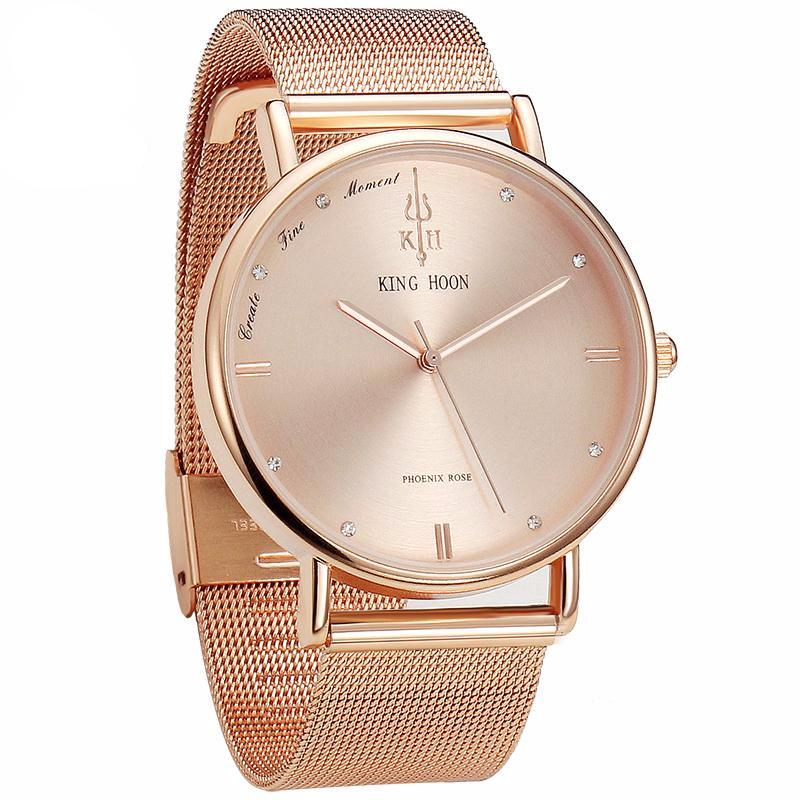 Ultra Thin Stainless Watch - Ydentity - Fashion Accessories
