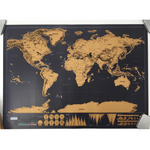 Deluxe Personalized World Map - Ydentity - Fashion Accessories