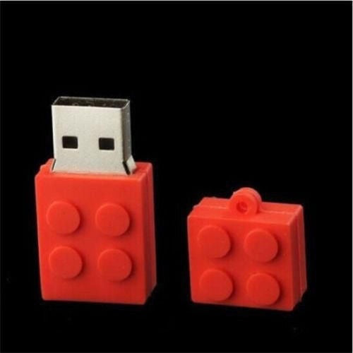 Toy Bricks USB 2.0 Memory Stick Flash Drive 8GB - Ydentity - Fashion Accessories