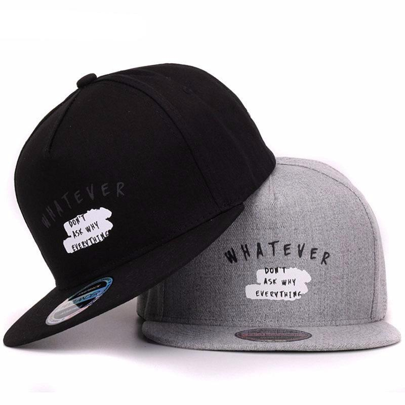 Whatever Unisex Snapbacks Cap - Ydentity - Fashion Accessories