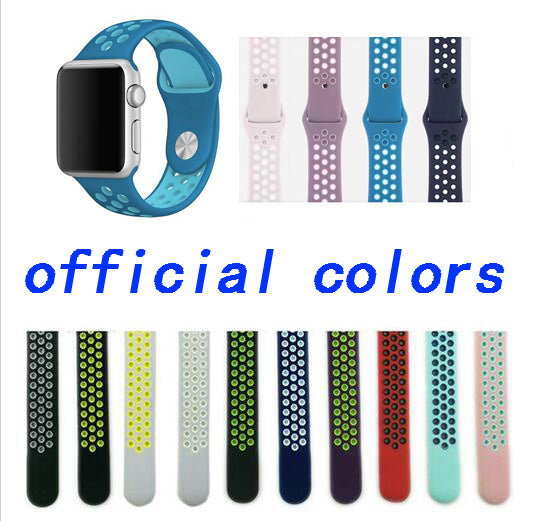 Silicone Colorful Wristband For Runners, Band Color - darkblue white