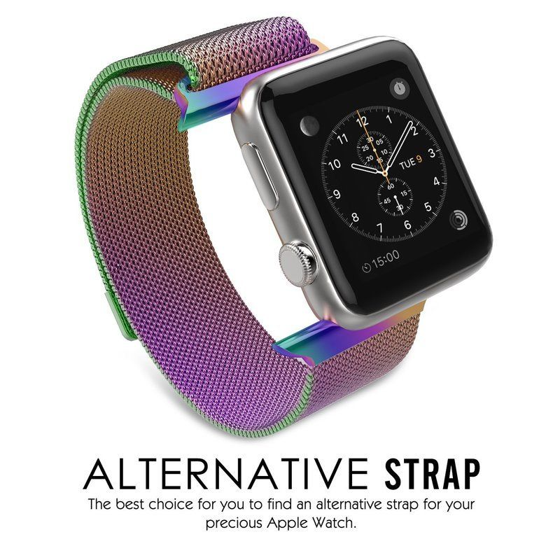 Milanese Loop Strap , Band Color - colorful
