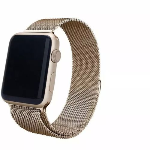 Milanese Loop Strap , Band Color - Vintage gold