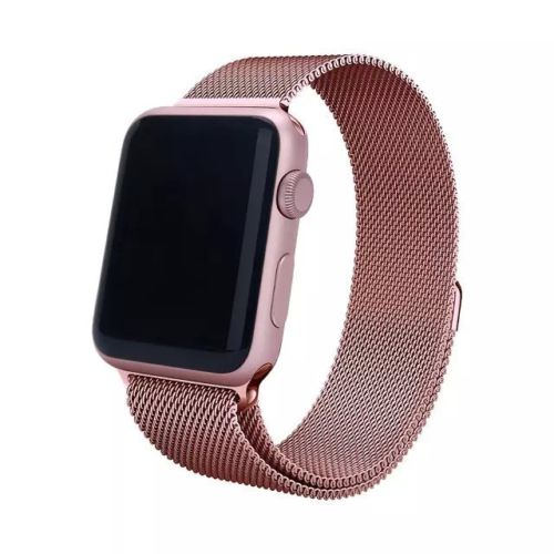 Milanese Loop Strap , Band Color - pink gold