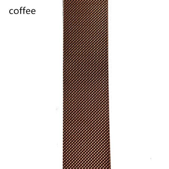 Milanese Loop Strap , Band Color - coffee