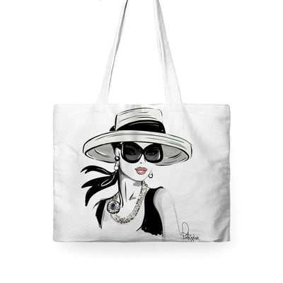 LUXURY TOTE BAG - AUDREY INSPIRED