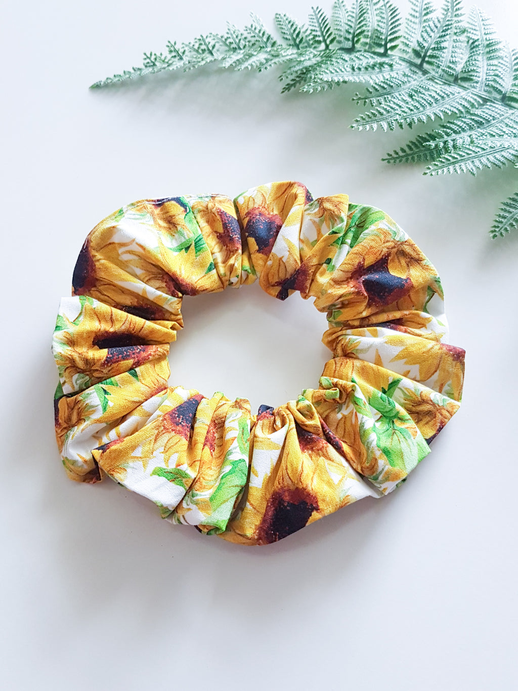 Sunflower Scrunchie ~ In Stock