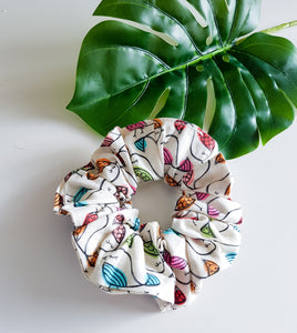Baby Birds Scrunchie ~ In Stock
