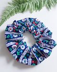 Anna Scrunchie In Blue ~ In Stock