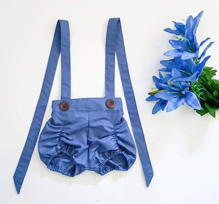 Essentials Collection Suspender Pucker Shorts *Made To Order Sizes 1-10