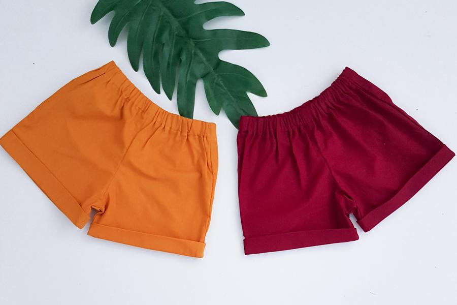 Essentials Collection Cuffed Shorts *Made To Order Sizes 00-10