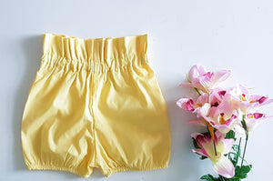 Essentials Collection Paperbag Waist Shorts *Made To Order ~ Sizes 00-10
