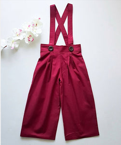 Essentials Collection Pleated Pants *Made To Order Sizes 1-8