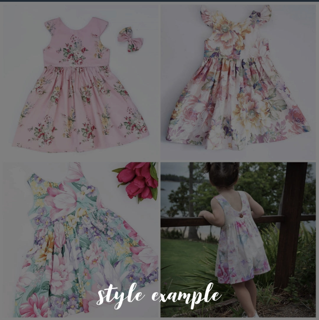 Tea Party dress -  *PREORDER ~ Sizes  0-8