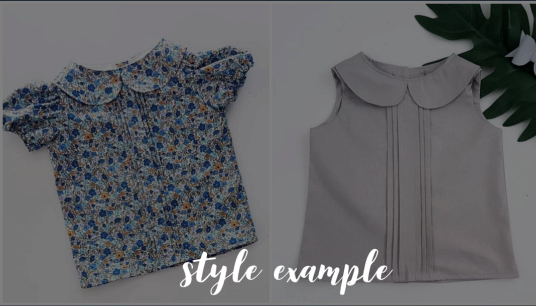 Pleatie Blouse -  *PREORDER ~ Sizes 1-10